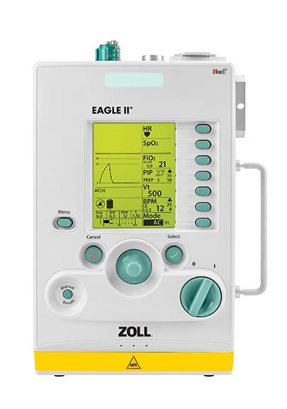 美国卓尔ZOLL便携式呼吸机Eagle II MRI