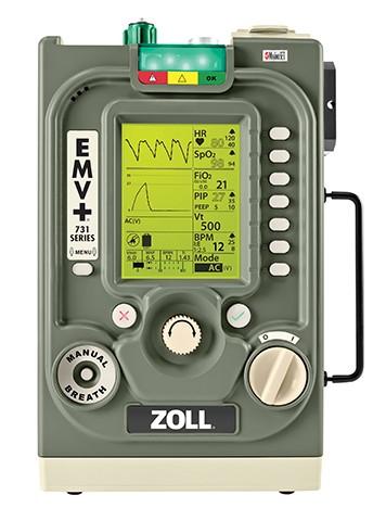 美国卓尔ZOLL便携式呼吸机EMV+